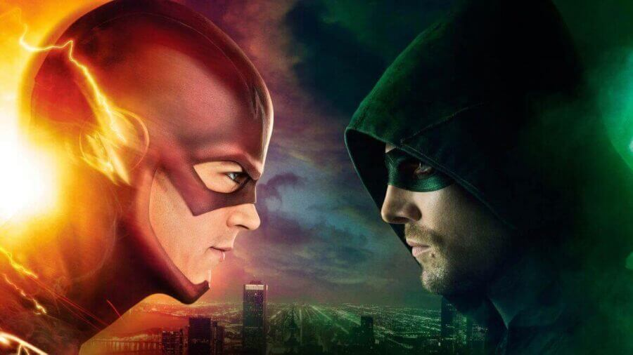 The Flash Season 1 and Arrow Season 3 now available on Netflix DVD rental