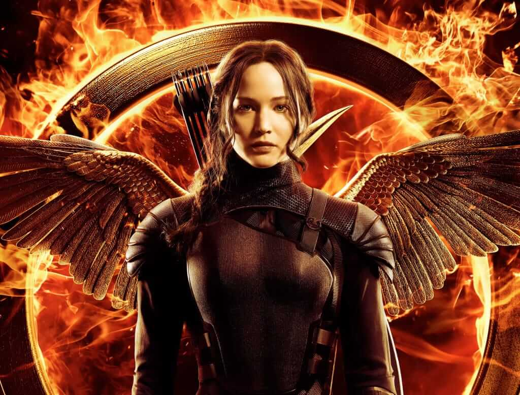 hunger games mockingjay part 1 and 2
