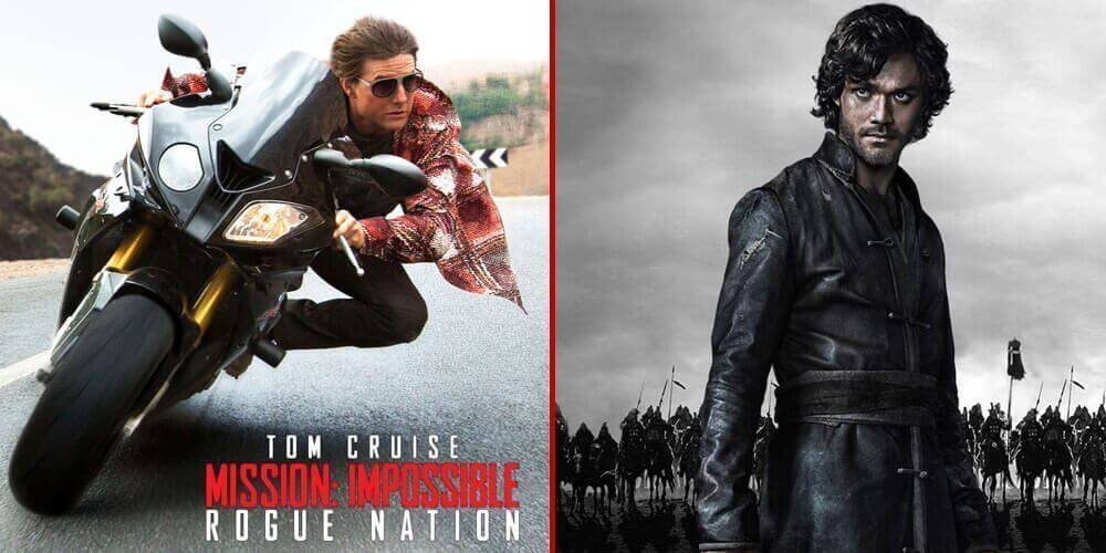 Mission: Impossible - Rogue Nation (2015) and Marco Polo (Season 1) now available on Netflix DVD