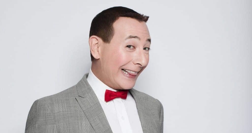 Paul Rueben reprising his role in Pee-wee's Big Holiday