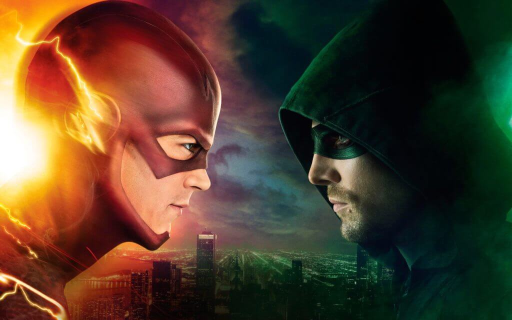 CW Contract Renewed - Arrow and The Flash pictured