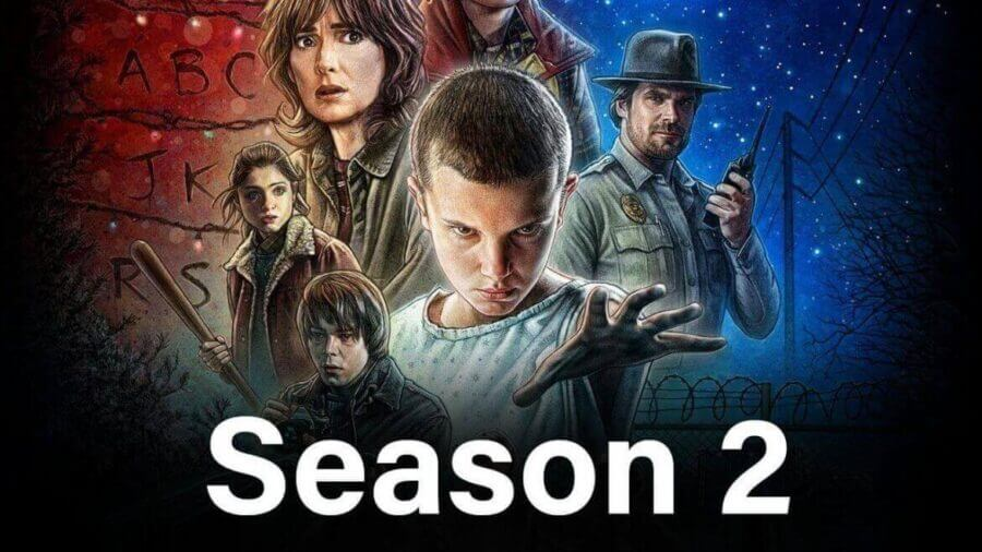 Image result for 'Stranger Things'  Season 2