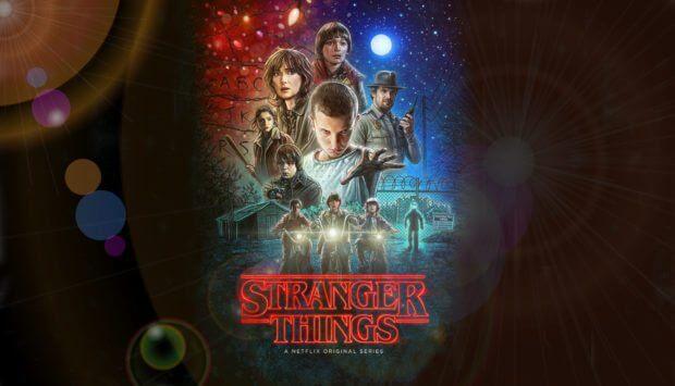 Stranger Things Poster, Netflix