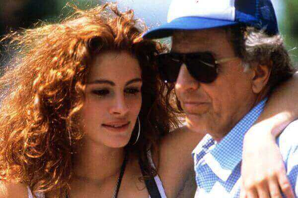 On the set of Pretty Woman. Photo: Vanity Fair
