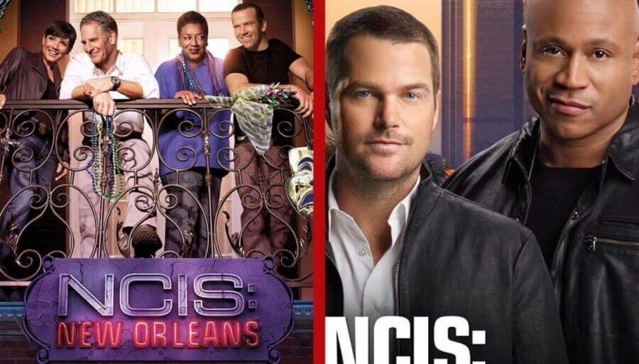 NCIS: Los Angelos and New Orleans on Netflix