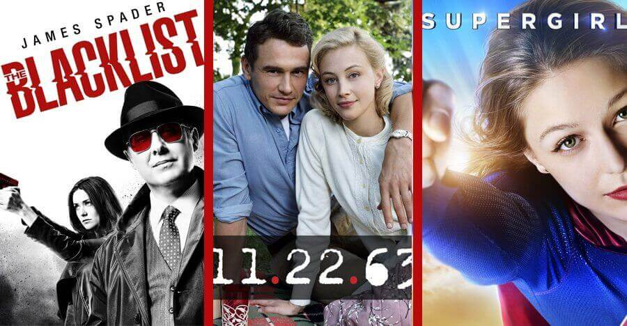 Netflix DVD Releases - The Blacklist, 11.22.63 and Supergirl
