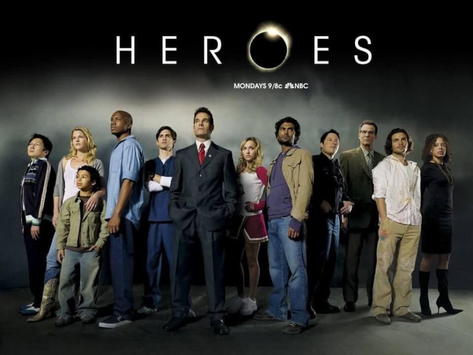 how many seasons is heroes