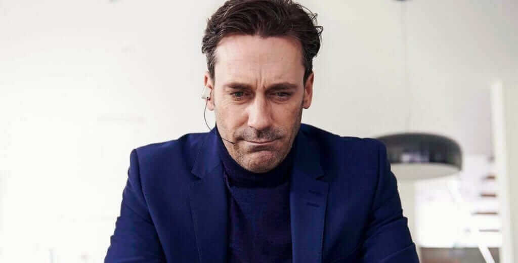 Jon Hamm starred in the Christmas episode of Black Mirror