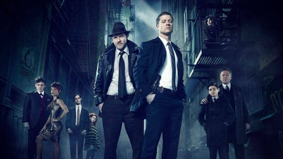 Is Season 3 of Gotham on Netflix?