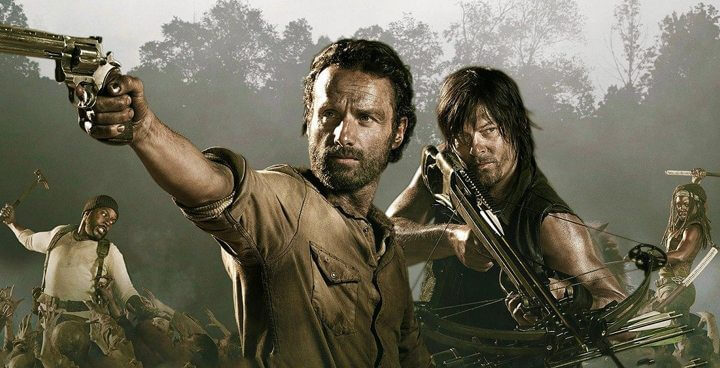 The Walking Dead season 6 now on Netflix