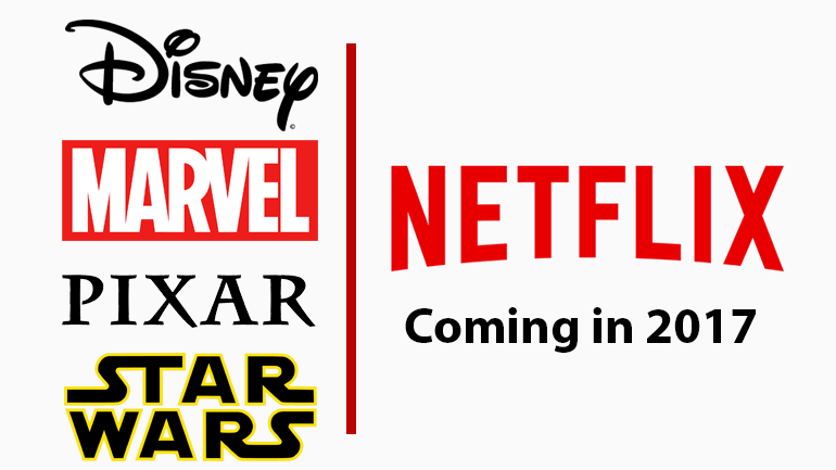 disney marvel and star wars titles coming to netflix in 2017 whats on netflix. Black Bedroom Furniture Sets. Home Design Ideas