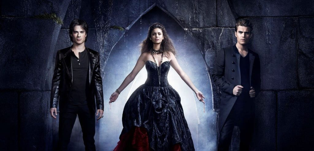 The Vampire Diaires season 8 on Netflix