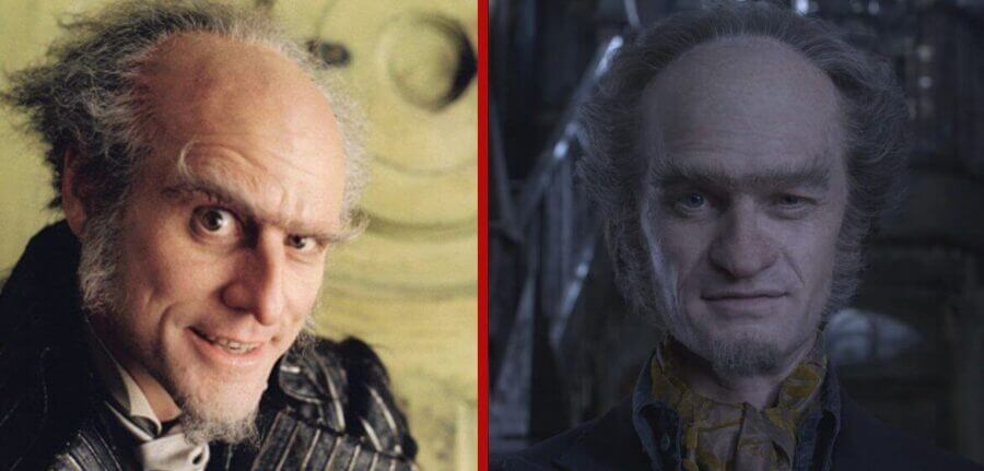 a series of unfortunate events tv series vs movie what