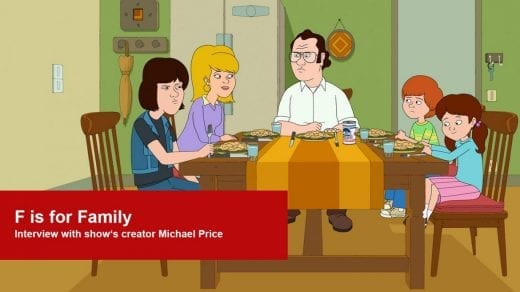 f is for family interview