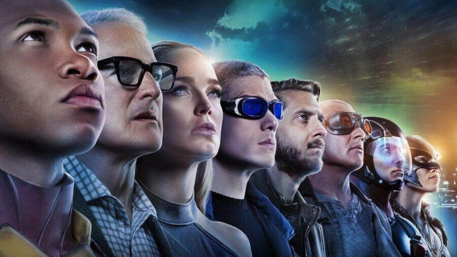 Legends Of Tomorrow Netflix