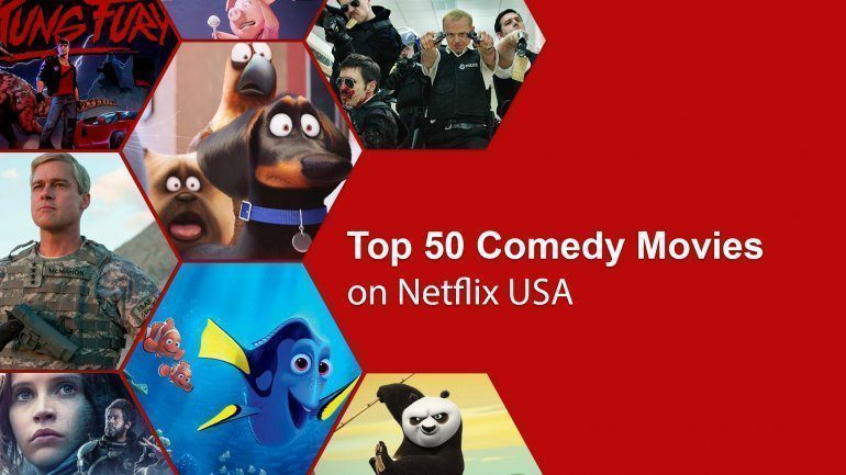 Comedy movies on Netflix have always had a strong lineup and here at What's on Netflix, we've picked out the best comedy movies on Netflix.