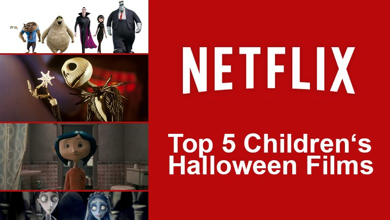 Top 5 Children's Halloween Films on Netflix - What's On Netflix