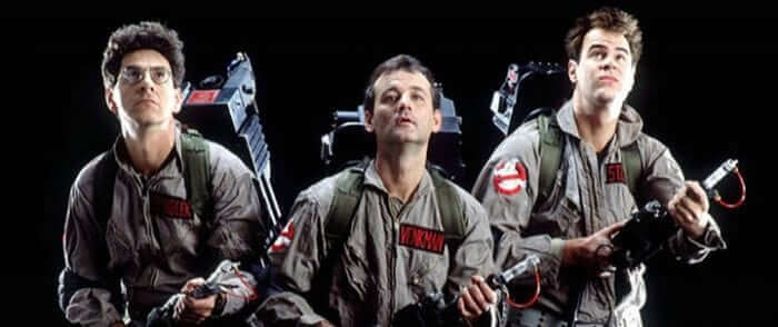 Old Ghostbusters Banner