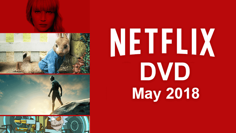 dvd releases may 2018
