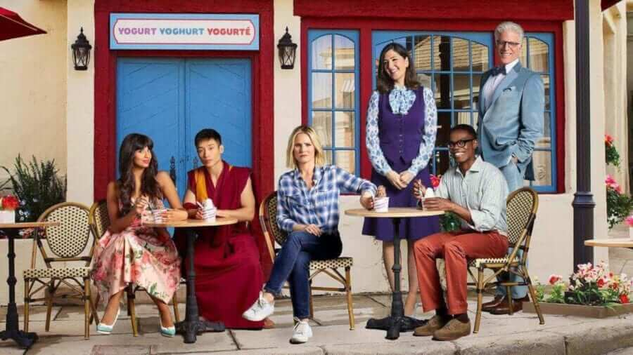 5 series like the good place on netflix
