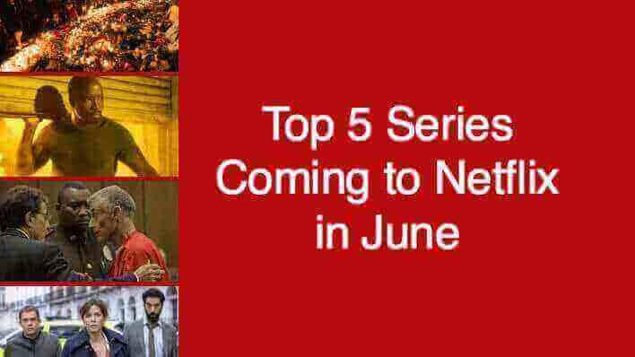 Top 5 netflix series