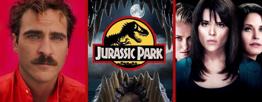 Her, Jurassic Park Trilogy and Scream 4 coming to Netflix