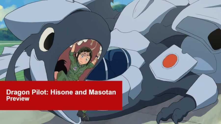 Dropping on 21st of september on netflix here is our preview to one of netflixs latest anime series acquisitions dragon pilot hisone and masotan
