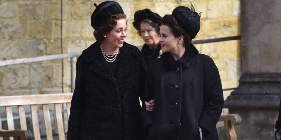 The-Crown-Season-3-Olivia-Coleman-&-Helena-Bonham-CarterNetflix