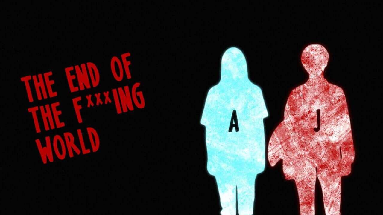 Risultati immagini per the end of the f *** ing world poster