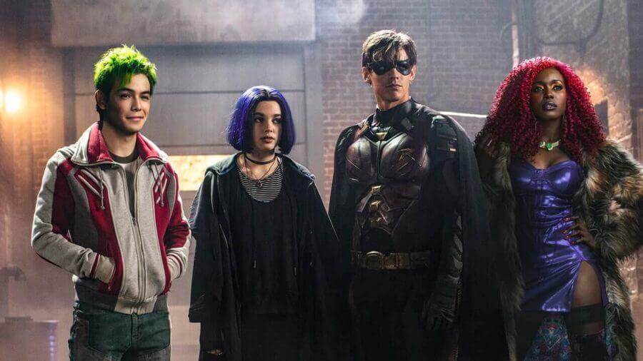 Titans Season 1 Netflix Release Schedule Us International What S On Netflix