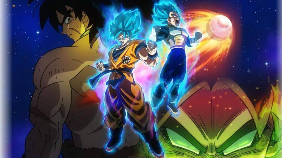 A still from 'Dragon Ball Super: Broly'