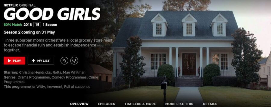 Good Girls' Season 2: Netflix Release Schedule - What's on
