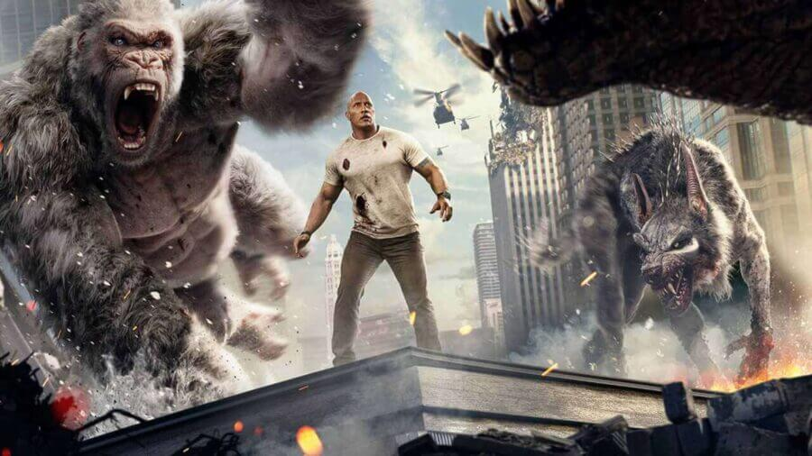 Rampage with Dwayne Johnson