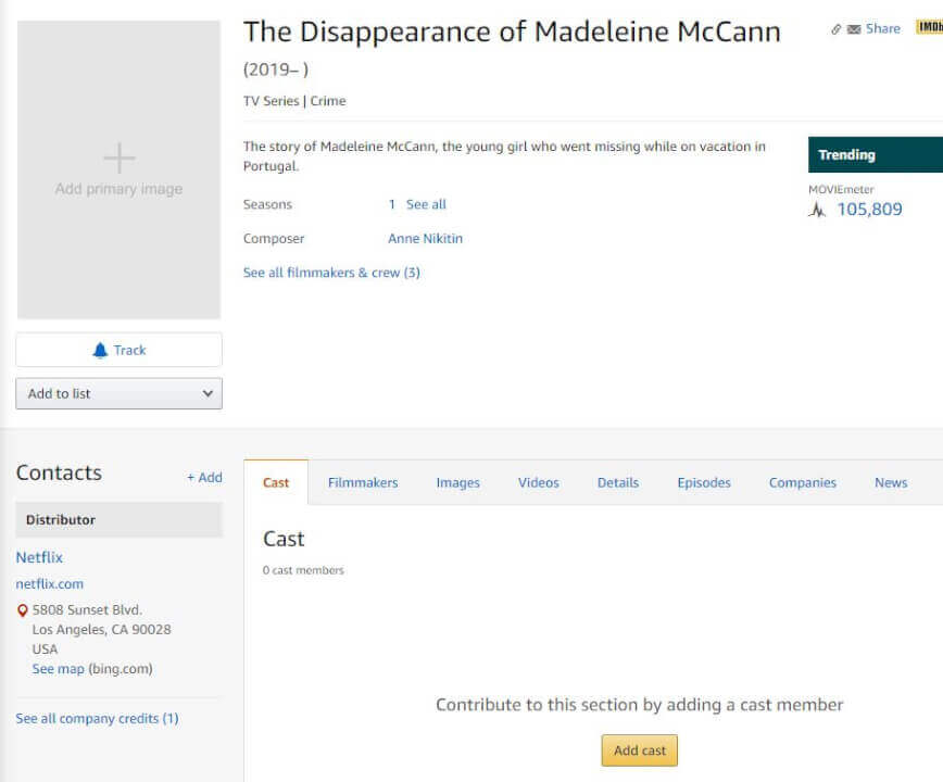 Netflix Profiles 'The Disappearance of Madeleine McCann' in Harrowing Trailer