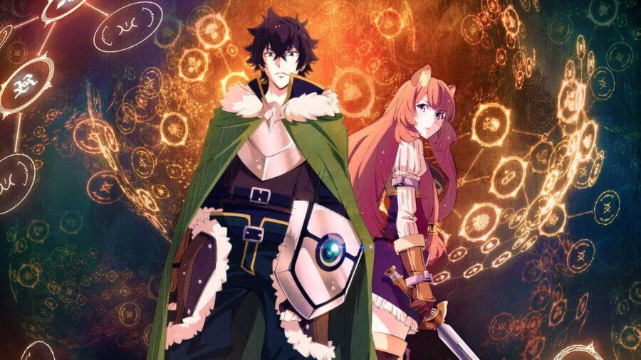 Is the rising of the shield hero on netflix