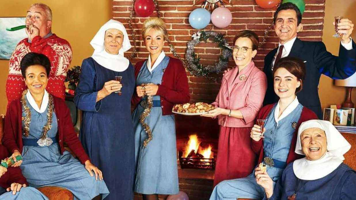 When will the full Season 8 of 'Call the Midwife' be on Netflix