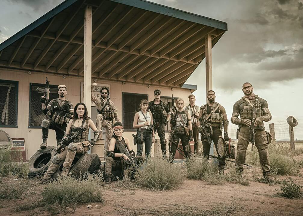 Army Of The Dead Photo Netflix Cast Photo