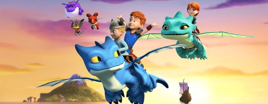 dreamworks rescue dragons netflix