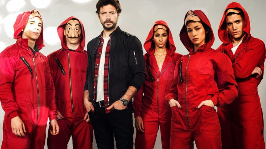 Image result for money heist