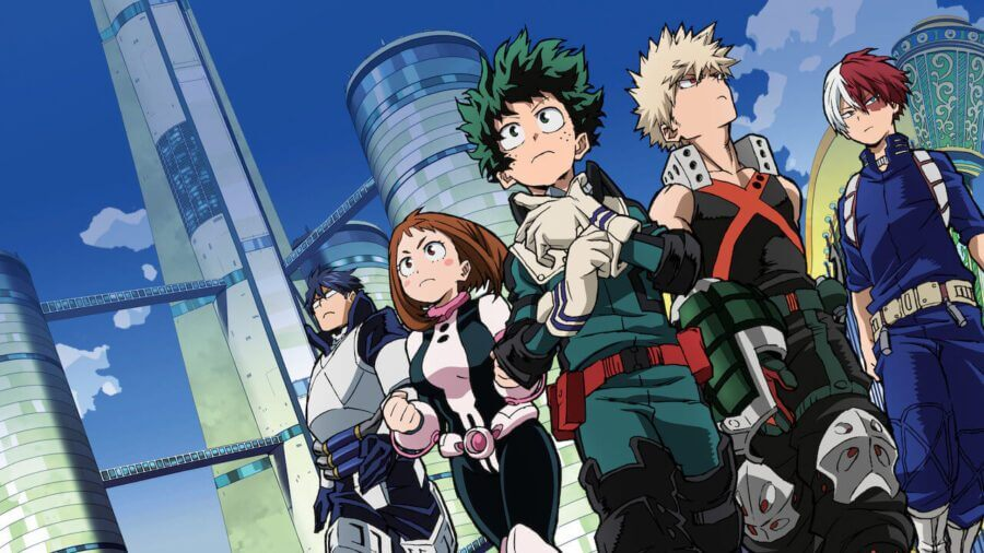 My Hero Academia Two Heroes Is Coming To Netflix Uk In February What S On Netflix