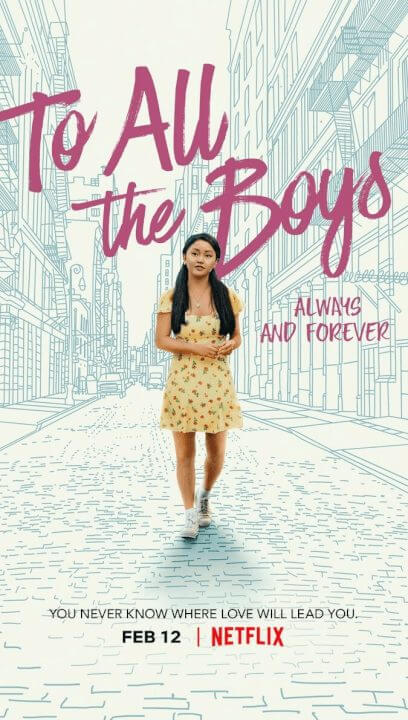 to all the boys always and forever netflix poster