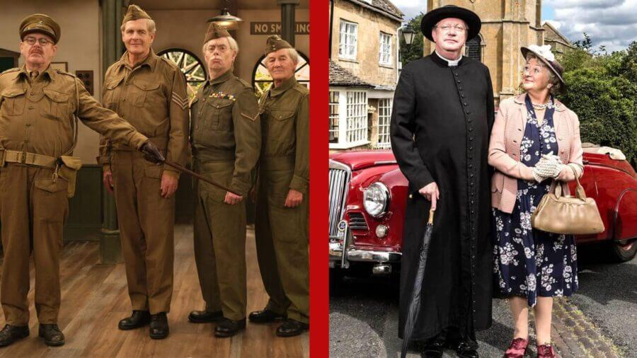 Father Brown Christmas Special 2020 Father Brown & Dad's Army Leaving Netflix in March 2020   What's