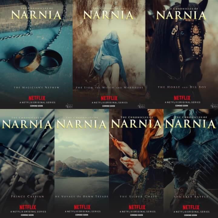 les couvertures des fans de narnia