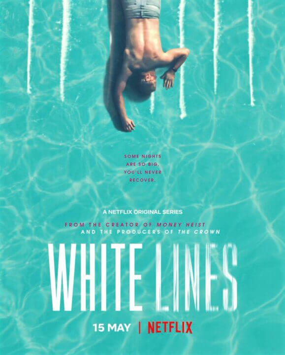 White Lines Series Poster