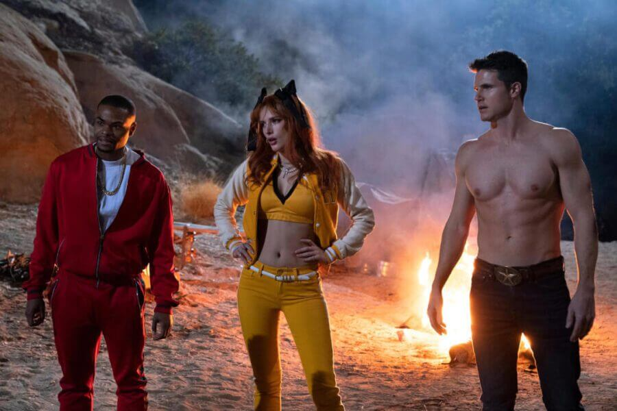 robbie amell bella thorne cast the babysitter 2 netflix