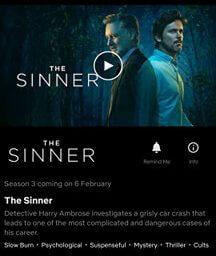 the sinner season 3 netflix release