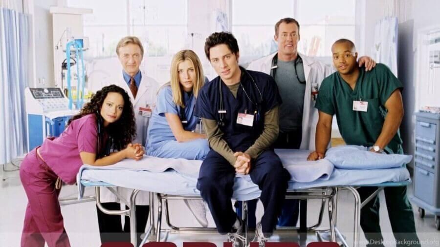 Are seasons 1 9 of Scrubs on Netflix