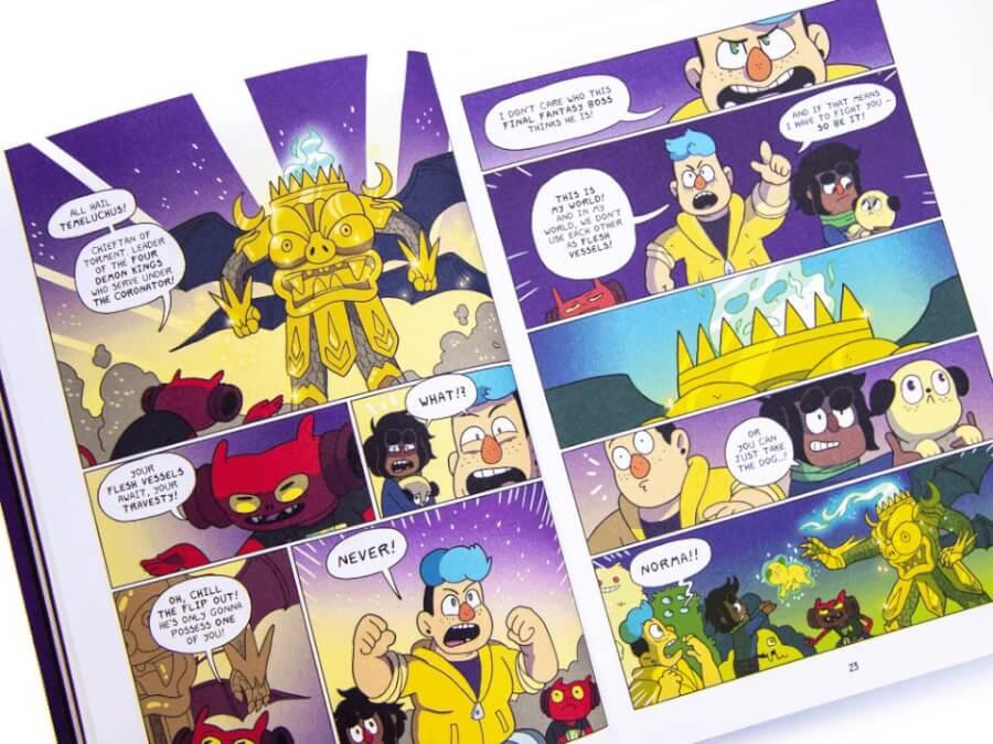 deadendia season 1 netflix comic