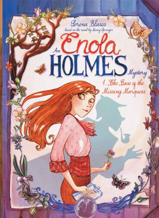 enola holmes netflix graphic novel