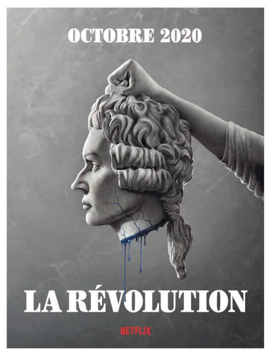la revolution advertisement with october release date
